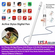 Digital Capacitive Touch Screen Active Stylus Digital Pen For  Apple iPhone iPad
