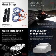 Car Cover Wind Gust Strap Protector Exterior Accessories Protect Your SUV Truck