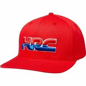 NEW Fox MX HRC Red Flexfit Motocross Dirt Bike Active Summer Lifestyle Hat