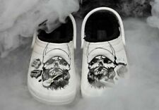 Luke Combs Crocs Skully Fur Lined Clogs Rare LC3 Mens 10 Unisex *In Hand to ship