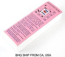 100pcs Non-woven Hair Removal Paper Depilatory Wax Strips