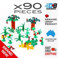 Bulk LEGO® Plant & Garden Pack 1 [Genuine Parts] Trees,Flowers,Leaves x90 Parts
