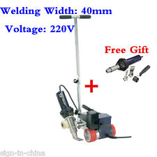 AC220V Weldy RW3400 Roofer Hot Air Welder Machine 40mm Nozzle + FREE GIFT GUN
