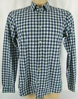Scotch and Soda Men's Long Sleeve Shirt Blue Check Size XL