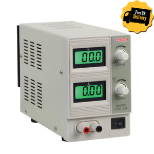 15V, 2A DC Adjustable Regulated Linear Bench Power Supply- FAST-FREE P&P