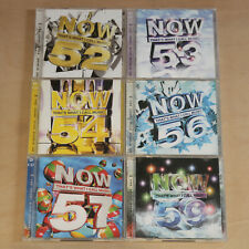 Now That's What I Call Music CD Bundle - 52,53,54,56,57,59 - 2002, 2003, 2004