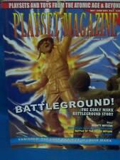 Playset Magazine #9 Marx WWII Battleground playsets, farm set plus more