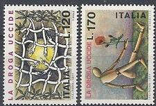 1977 ITALIA LA DROGA UCCIDE MNH ** - ED