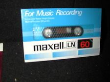 MAXELL LN60 LN 60 BLANK SEALED CASSETTE TAPE  JAPAN MADE RARE