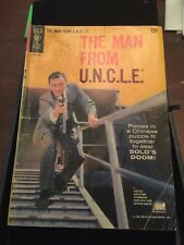 1965 The Man From U.N.C.L.E. Gold Key Comic Book Number 2