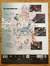 Need for Speed: Underground 2 PS2 Playstation 2 2004 Vintage Poster Ad Art Rare
