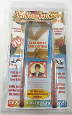 "Kake KUT'R Kutter - Cake Cutter w/ Dual Handle ""AS SEEN ON TV"" - NEW!"