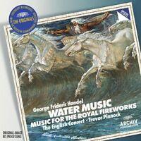 Trevor Pinnock - Handel: Water Music and Fireworks Music (DG The Originals) [CD]