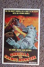 Godzilla vs Cosmic Monster Lobby Card Movie Poster