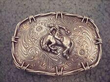 Western Bronco Horse  Belt Buckle 4