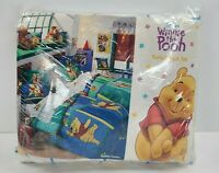 Vintage 90s Disney Winnie The Pooh Rumbly Tummy Twin Sheet Set 3pc Tigger NEW