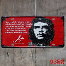 Metal Tin Sign che guevara Decor Bar Pub Home Vintage Retro Poster Cafe ART