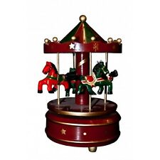 Vintage Wind Up Toy Musical Carousel