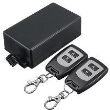 DC 220V 10A 1CH Wireless Remote Control Relay Switch 2 Transceiver + Receiver