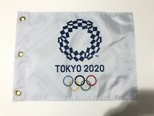 More details for the olympics tokyo 2020 golf pin flag new