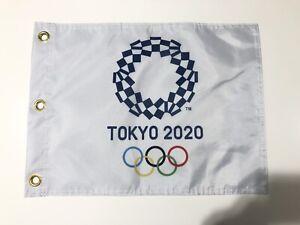THE OLYMPICS TOKYO 2020 GOLF PIN FLAG NEW