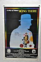 1979 Being There Original 1SH Movie Poster 27 x 41  Peter Sellers Last Movie