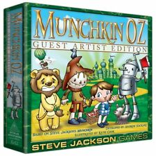 Damaged Box Munchkin Oz Guest Artist Katie Cook Board Game SJG 1542