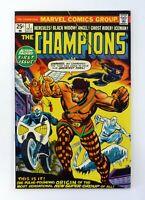 CHAMPIONS #1 Marvel Comics Black Widow, Ghost Rider Hercules VF+ 1975