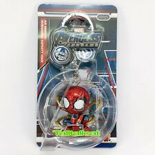 Marvel HotToys Avengers END GAME Cosbaby Keychain ( Iron Spider ) Key Chain