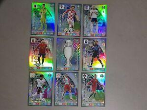 Panini adrenalyn XL FIFA Euro 2020  9 rare cards euro 2020 panini set Master