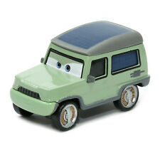 Mattel Disney Pixar Cars 2 Miles Axlerod 1:55 Metal Diecast Toy Vehicle Loose