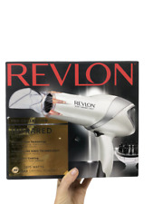 Revlon Ceramic Ionic Infrared Styler Hair Drying Tourmaline Ionic Technology NEW