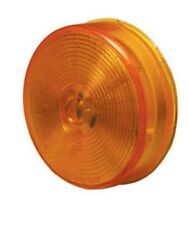 "2 1/2"" Round Amber Yellow Marker Light 13 LED - Grommet & Plug ~ Truck ~ Trailer"