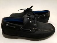 Timberland Men's Piper Cove Boat Shoes sample size 9 Black nubuck