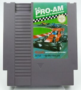Nintendo *R.C. Pro-AM* NES Modul PAL B NOE +