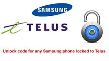 Unlock code for Samsung Galaxy S8, S8 Plus locked to Telus, Koodo