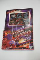 RARE Vintage 1983 Transformers STICK-N-PLAY Stickers Activity Set *NEW* Sealed