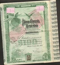 "BANCO CENTRAL MEXICANO 1905 => ""BLUEBERRY"""