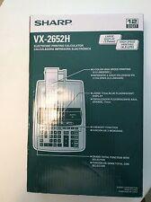 Sharp VX-2652H Electronic Printing Calculator 12-Digit
