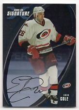 Erik Cole 02-03 In the Game Signature Series X Autograph Signature Silver