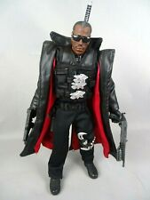 "1/6 scale Marvel Studios 2002 Toy Biz Blade 2 Wesley Snipes as Blade 12"" figure"