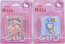 HELLO KITTY Magic Wash Mitt Washcloths SET of 2 Bath Cloths Cotton Washable NEW