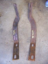 1965 PLYMOUTH VALIANT FRONT BUMPER BRACKETS #3533332 & 3533333 OEM