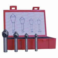 Cleveland C94589 Countersink/Deburring Tool Set,4 Pieces