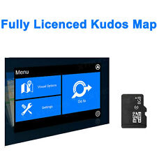Updated 8GB Kudos GPS SD Map Card For North America Car DVD Stereo Radio Player