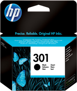 Original HP Cartouche d'encre Noir(e) CH561EE 301