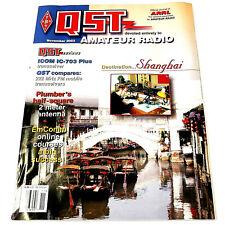 QST HAM/Amateur Radio ARRL MAGAZINE -NOVEMBER 2003 ICOM IC-703 PLUS XCVR 222 MHz