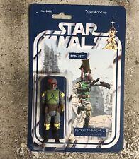 Custom Star Wars Nail Polish Coruscant Bootleg Boba Fett Figure Mandalorian