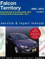 Ford Falcon (02-14)/Territory (04-11) 2002-2014 (04277) Gregory's Repair Manual