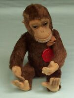 Vintage Schuco Tricky Monkey Mohair  Yes / No Character Toy Germany
